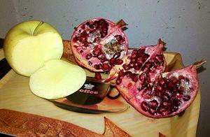 Damavand, Iran - Image: Damavand's Apple and pomegranate