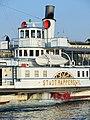 Dampfschiff Stadt Rapperswil - Bürkliplatz 2013-08-29 19-16-53 (P7700).JPG