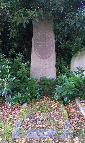 Daniel Solander - Solander's grave in Brookwood Cemetery
