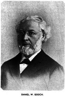Daniel W. Gooch American politician