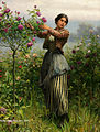Daniel ridgway knight b1663 cutting roses wm.jpg
