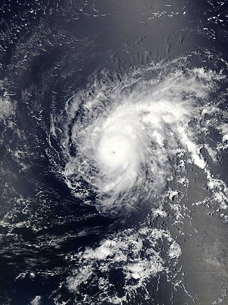 2015 Atlantic hurricane season - Image: Danny 2015 08 21 1620Z