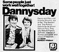 Dannysday ad with Mary Hart.jpg