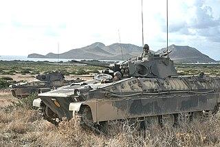 Dardo IFV Infantry fighting vehicle