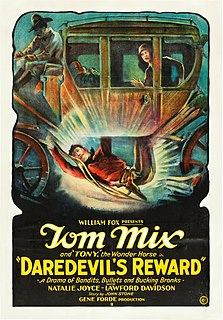 <i>Daredevils Reward</i> 1928 film by Eugene Forde