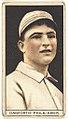 Dave Danforth, Philadelphia Athletics, baseball card portrait LCCN2008678381.jpg