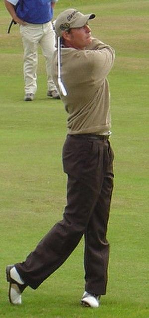 David Howell (golfer) - Image: David Howell 2004 cropped