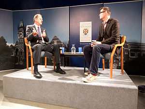David Shearer - Shearer speaking to University of Otago academic Bryce Edwards in 2011