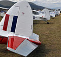 Day 2 Line up of tails at Watts Bridge Airfield (6931040949).jpg