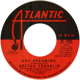 Day Dreaming (Aretha Franklin song) single