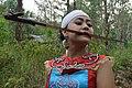 Dayak Woman and Mandau 151030001.jpg