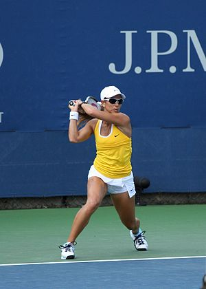 Rossana de los Ríos - de los Ríos at the 2009 US Open