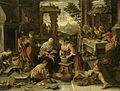 De rijke man en de arme Lazarus. Rijksmuseum SK-A-2127.jpeg