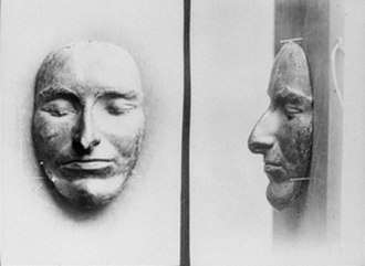 Bushranger - The death mask of Jackey Jackey. He was executed after leading the 1846 Cooking Pot Uprising.