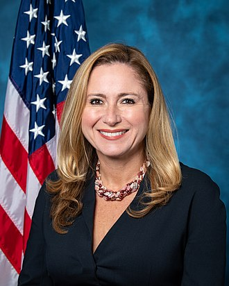 Florida's 26th congressional district - Image: Debbie Mucarsel Powell, official portrait, 116h Congress