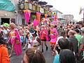 Decadence 2013 Parade Mask Stockings.JPG