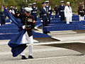 Dedication of the Pentagon Memorial marine.jpg
