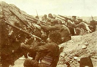 Defense of Van (1915) - Armenians in the trenches