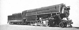 High-pressure steam locomotive