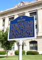 Delphi Indiana courthouse marker.png
