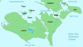 Storstrømmen - Storstrømmen between Falster and Zealand