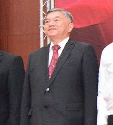Deputy Minister Shen Jong-chin 沈榮津次長 (20170425 中科院與漢翔公司新式高教機簽約儀式 201704251405542).jpg