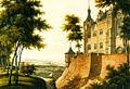 Der Ostflügel der Marienburg mit künstlicher Schlucht und Wasserlauf.jpg