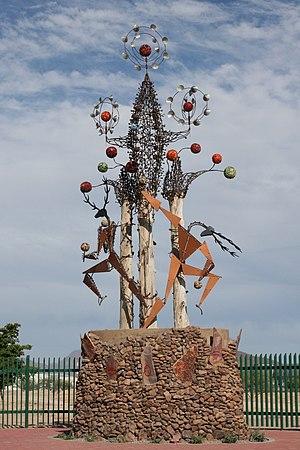 Hermosillo Municipality - Desert sculpture at the edge of Hermosillo