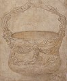 Design for a Bucket-Like Vessel with a Handle of Interlaced Figures, on a Body Adorned with Bucrania, Garlands, and Three River Gods. MET 49.19.67.jpg
