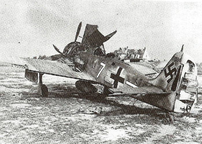 Destroyed-FW-190