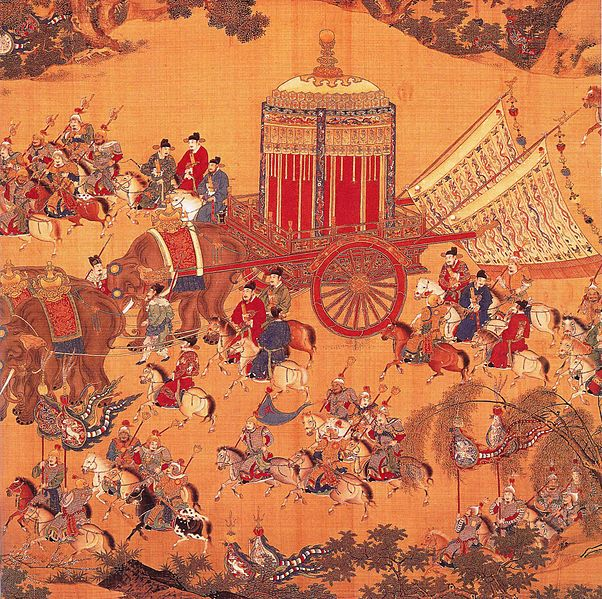 File:Detail of The Emperor's Approach, Xuande period.jpg