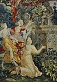 """Detall del tapís """"L'arribada de Psiquis al temple de l'amor"""", Museu de Belles Arts de València.JPG"""