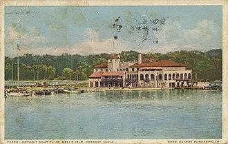 Detroit Boat Club - Detroit Boat Club, circa 1910s