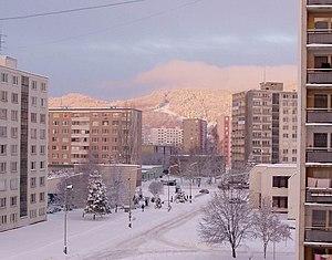Detva - Image: Detva, strato Vimperská, vintro