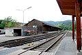 Deutschlandsberg Bahnhof Lagerschuppen Gleisseite.jpeg