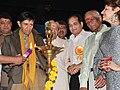 Dev Anand at the inaugration of the Dada Saheb Phalke Academy Awards, 2010.jpg