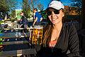 Deya Drinking a Beer at Alamo Beer Company (2015-03-26 18.09.23 by Nan Palmer).jpg