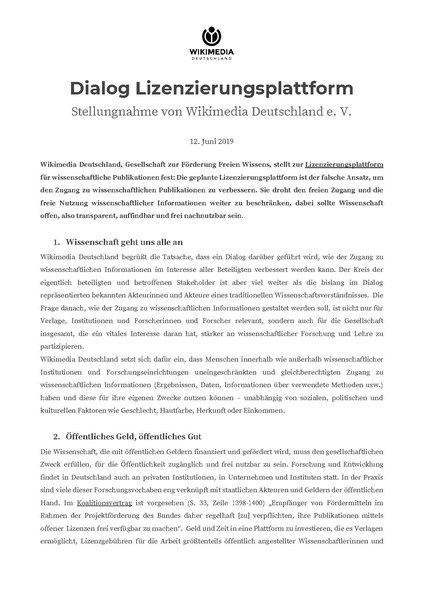 File:Dialog Lizenzierungsplattform - Stellungnahme Wikimedia Deutschland e. V.pdf