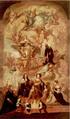 Die Heilige Dreifaltigkeit, die Heiligen Adelheid und Cajetan und der Kurfürst Ferdinand Maria von Bayern mit Familie und Gefolge, Antonio Zanchi.png