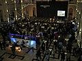 Die Nacht, die Wissen schafft 2012, Lichthof im Welfenschloss, Leibniz Universität Hannover, Vortrag Dr. Ing. habil. Mirko Schaper, Vortrag MAGNESIUM ..., a.jpg