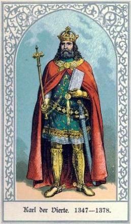 Die deutschen Kaiser Karl IV