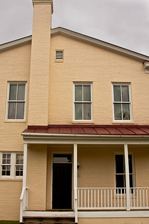 Dinwiddie County Court House - Image: Dinwiddie Courthouse rear 9866