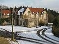 Disused villa at Bangour - geograph.org.uk - 1735307.jpg