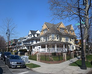 Ditmas Park, Brooklyn - Ditmas Avenue and Rugby Road