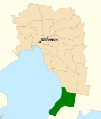 Division of Dunkley - Division of Dunkley in Victoria, as of the 2016 federal election.