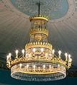 Doberan Großes Palais ovaler Saal Kronleuchter.jpg