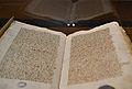 Document d'ingrés del sant calze a la catedral de València, 1437, arxiu de la catedral de València.JPG