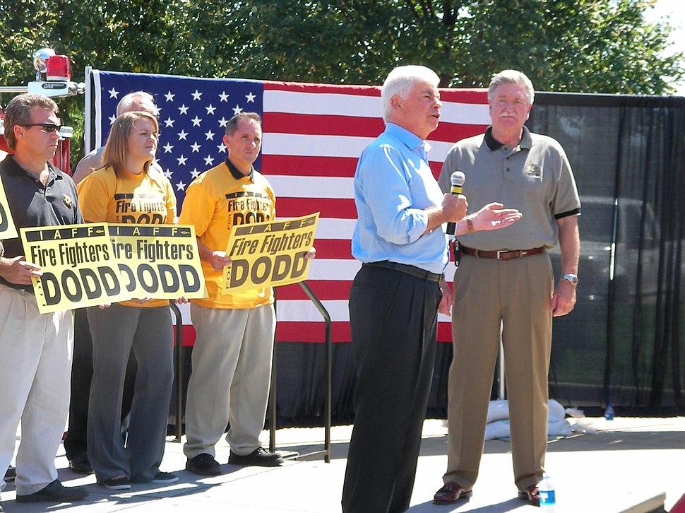 Dodd Speaks to IAFF