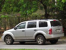 Pre Facelift Dodge Durango Slt