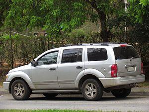 Dodge Durango - Pre–facelift Dodge Durango SLT